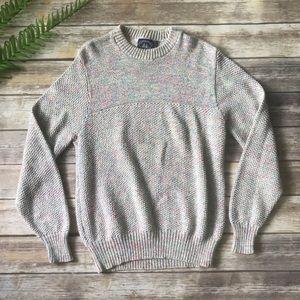 VTG oversized Multicolor Knit Sweater